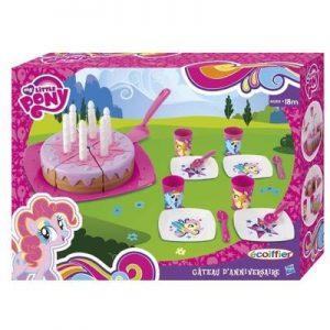 Le gâteau d'anniversaire My little pony