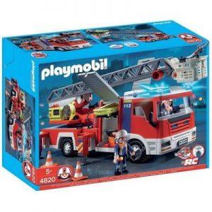 Le Bon Jouet Playmobil Camion de pompier