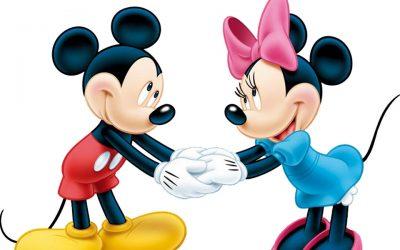 Mickey et Minnie toujours tendances !