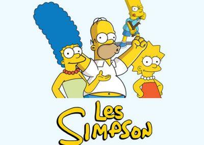 Les Simpson : jouets autour de la fantasque famille Simpson