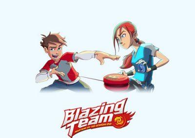 Blazing Team : les yo-yo de la Blazing Team