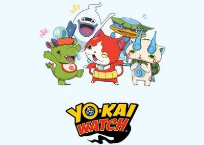 Yo-Kai Watch : montres et jouets dérivés de la série Yo-Kai Watch