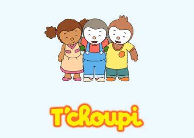 T'Choupi : jeux et peluches T'Choupi