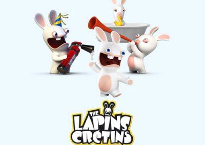 Les lapins crétins : jeux et peluches autour des lapins crétins