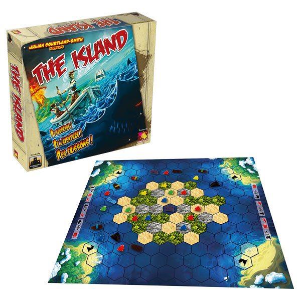 Sauvez vos pions de l'île, et jouez à The Island !